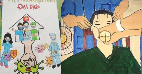 Không thể đưa con đi du lịch vì dịch Covid, gia đình mở cuộc thi vẽ tranh, tác phẩm nhận được mới bất ngờ