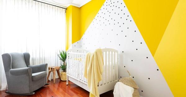 Vàng - sắc màu tươi vui đem lại hiệu quả bất ngờ khi bạn sử dụng cho phòng của bé