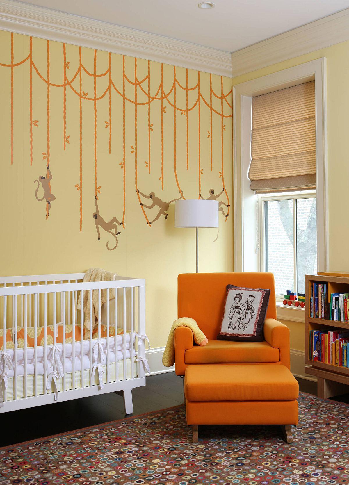 Vàng - sắc màu tươi vui đem lại hiệu quả bất ngờ khi bạn sử dụng cho phòng của bé-4