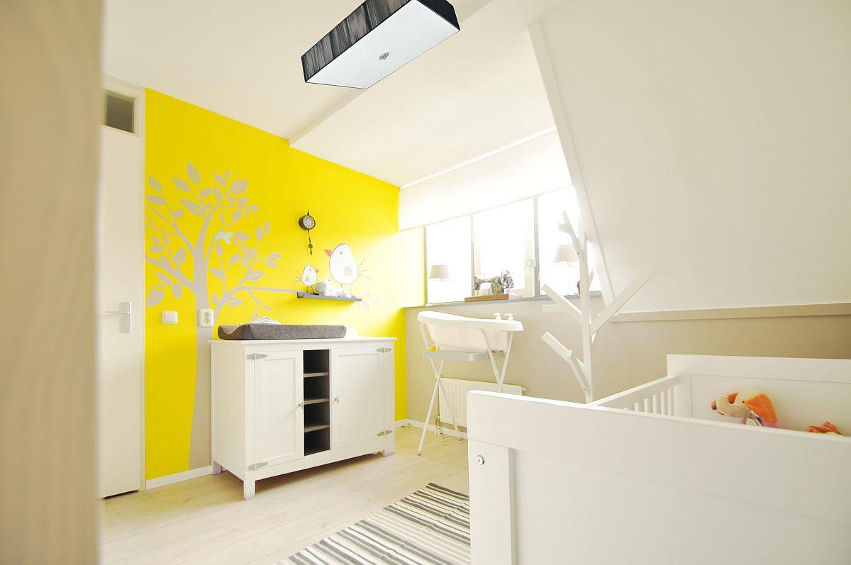 Vàng - sắc màu tươi vui đem lại hiệu quả bất ngờ khi bạn sử dụng cho phòng của bé-5