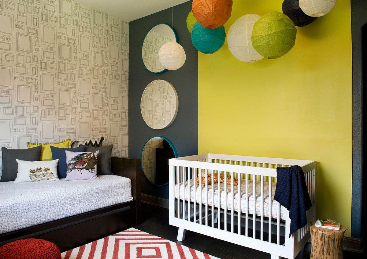 Vàng - sắc màu tươi vui đem lại hiệu quả bất ngờ khi bạn sử dụng cho phòng của bé-9