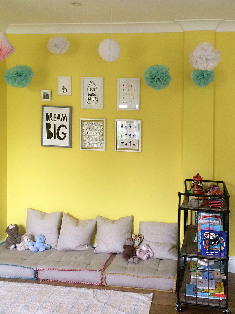 Vàng - sắc màu tươi vui đem lại hiệu quả bất ngờ khi bạn sử dụng cho phòng của bé-10