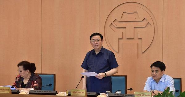 Bí thư Vương Đình Huệ: Hà Nội sẵn sàng đáp ứng nhân lực cho Đà Nẵng khi cần thiết