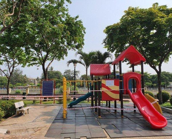 TP.HCM tạm dừng hoạt động các khu tập thể dục, khu trò chơi thiếu nhi tại công viên