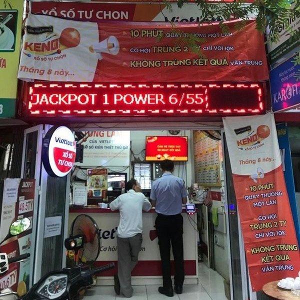 Vé trúng giải Vietlott 70 tỷ đồng được bán ra tại Hà Nội