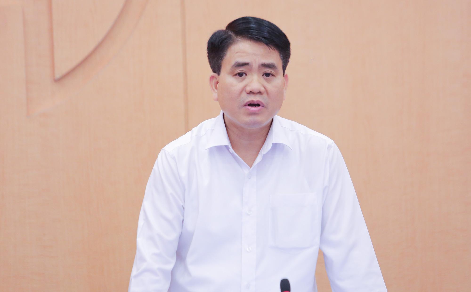 Chủ tịch Nguyễn Đức Chung 'xin' ghi nhận ca mắc Covid-19 số 751 cho Hà Nội