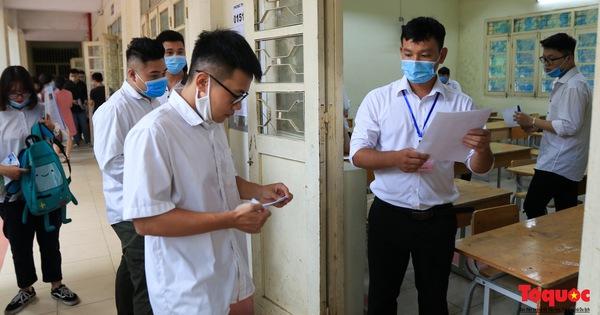 13 thí sinh bị đình chỉ thi trong ngày đầu tiên thi tốt nghiệp THPT 2020