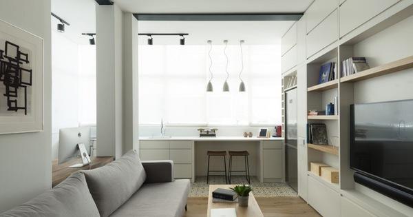 Căn hộ 59m² với thiết kế vừa vặn cho cuộc sống hiện đại, tiện nghi ở thủ đô