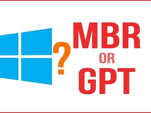 Hướng dẫn chuyển đổi định dạng ổ cứng từ MBR sang GPT không mất dữ liệu, không phải cài lại win