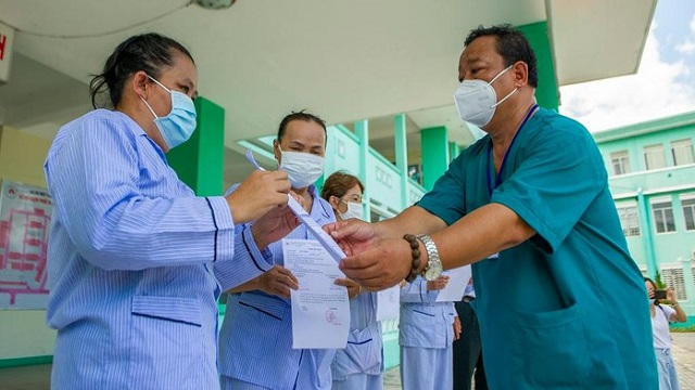 4 bệnh nhân đầu tiên tại Đà Nẵng được công bố khỏi bệnh