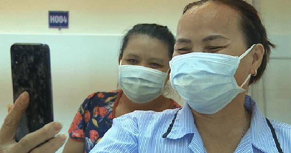 Niềm vui của bệnh nhân Covid-19 vừa xuất viện ở Đà Nẵng: