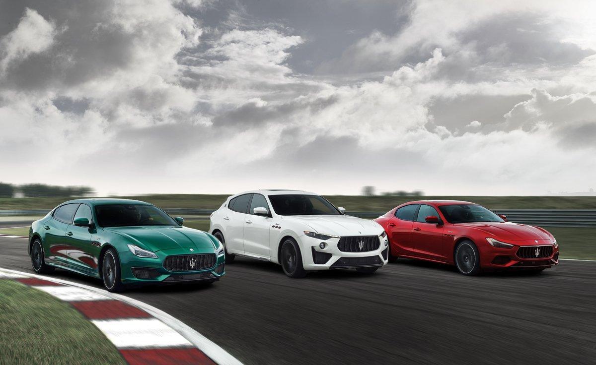 Maserati ra mắt cặp đôi Quattroporte và Ghibli Trofeo: tăng sức mạnh và sự sang trọng
