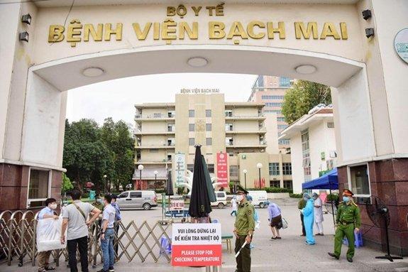Bệnh viện Bạch Mai lên tiếng về thông tin có ca nhiễm Covid-19 trong viện