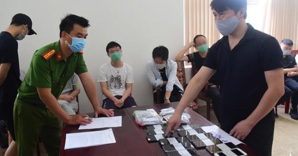 Phạt tiền, trục xuất 7 người Trung Quốc thuê khách sạn đánh bạc trực tuyến