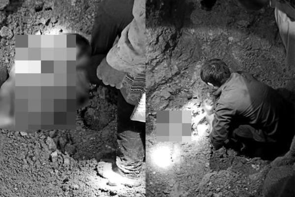 Thương tâm hai anh em tử vong vì bị đất đá vùi lấp trong đêm
