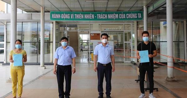 Hai bệnh nhân Covid-19 ở Quảng Nam được công bố khỏi bệnh và xuất viện