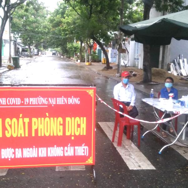 Đà Nẵng: Cách ly khu vực với hai chung cư ở Sơn Trà