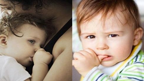 Các tác hại của việc mút ngón tay ở trẻ