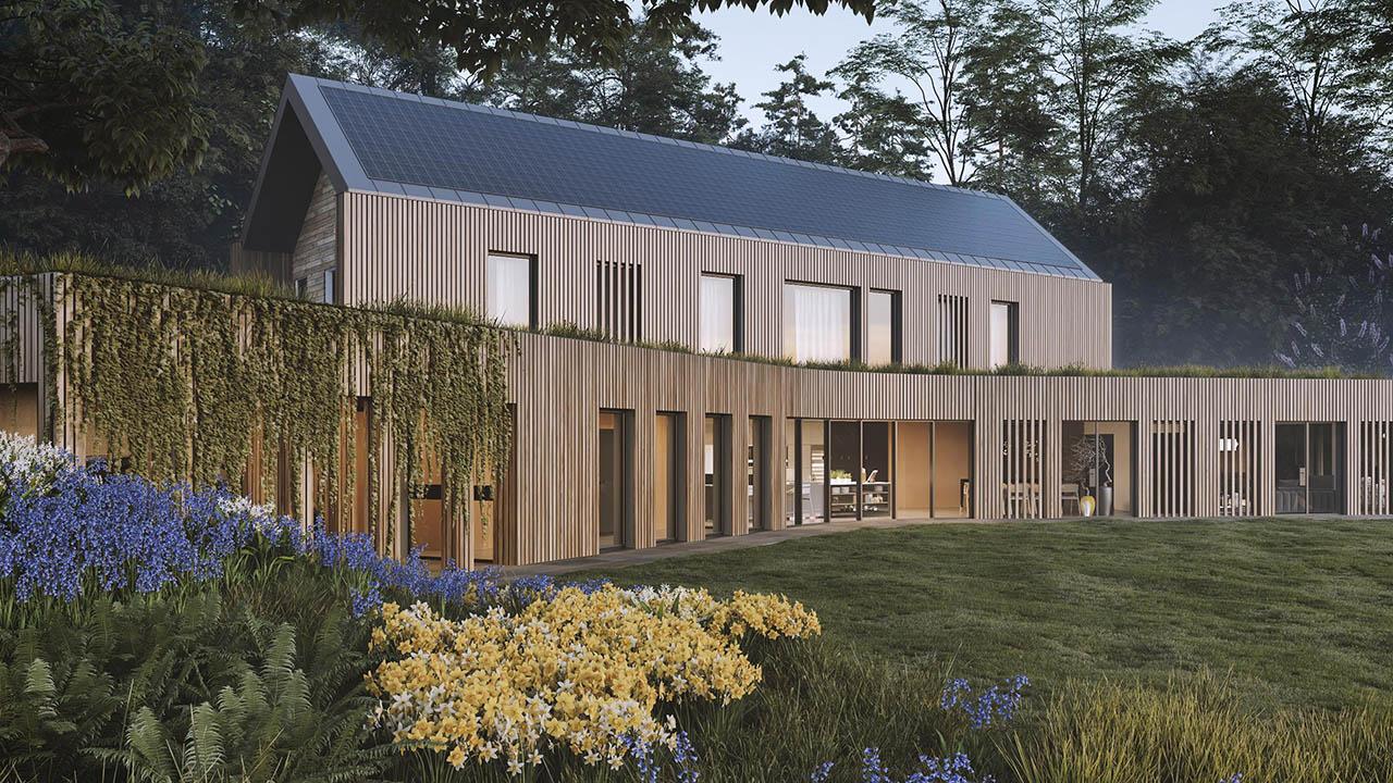 Có gì đặc biệt bên trong 'ngôi nhà xanh nhất Châu Âu trong tương lai'