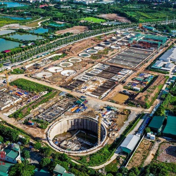 """Hà Nội: Bên trong dự án 16 nghìn tỷ nhằm giải cứu hàng loạt con sông """"chết"""""""
