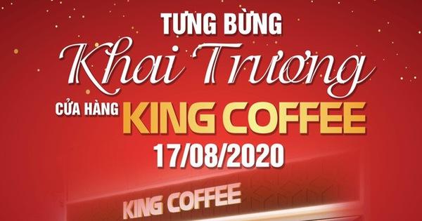 Dự khai trương King Coffee, gặp cầu thủ nổi tiếng