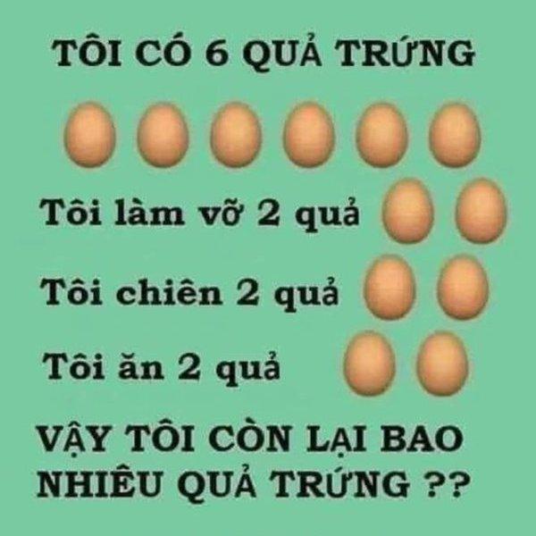 Câu đố quả trứng tưởng