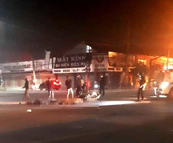 Truy tìm xe đầu kéo tông đôi nam nữ tử vong trong đêm rồi chạy khỏi hiện trường