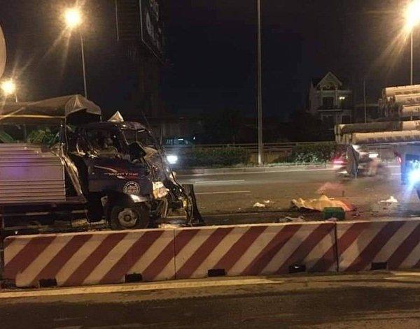 Mời chào tài xế vào ăn cơm, nam thiếu niên 13 tuổi bị xe tải tông tử vong