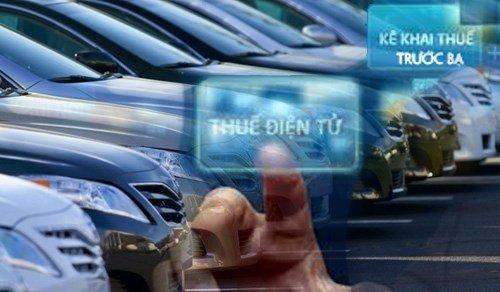 Từ hôm nay, có thể ngồi nhà làm giấy đăng ký ô tô, nộp phí trước bạ trực tuyến