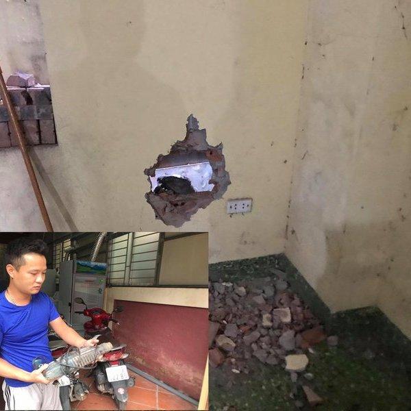 Vụ bé sơ sinh dưới khe tường hẹp giữa 2 nhà tại Hà Nội: Nhân chứng kể giây phút giải cứu nghẹt thở