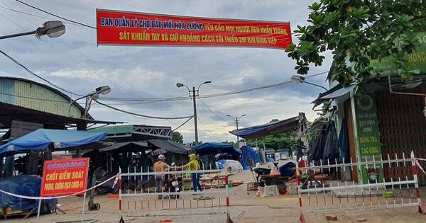 Lịch sử đi lại của 4 ca mắc Covid-19 công bố ngày 18/8 tại Đà Nẵng: Tiểu thương chợ đầu mối, thợ làm đậu khuôn, tiếp xúc nhiều người