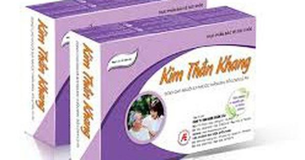 Quảng cáo về sản phẩm thực phẩm bảo vệ sức khỏe Kim Thần Khang lừa dối người tiêu dùng