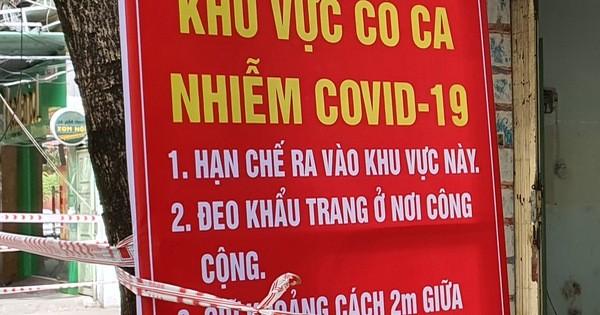 Nóng: Đà Nẵng thông báo khẩn tìm người tiếp xúc gần nhân viên BQL chợ Lầu Đèn mắc Covid-19
