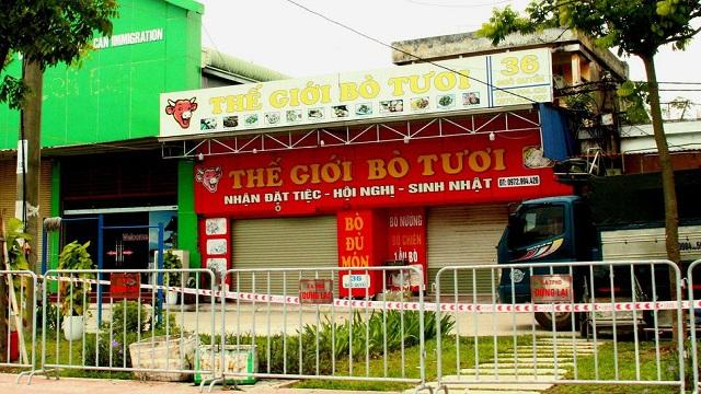 BN1016 liên quan nhà hàng Thế giới bò tươi, tiếp xúc anh trai ở Hà Nội
