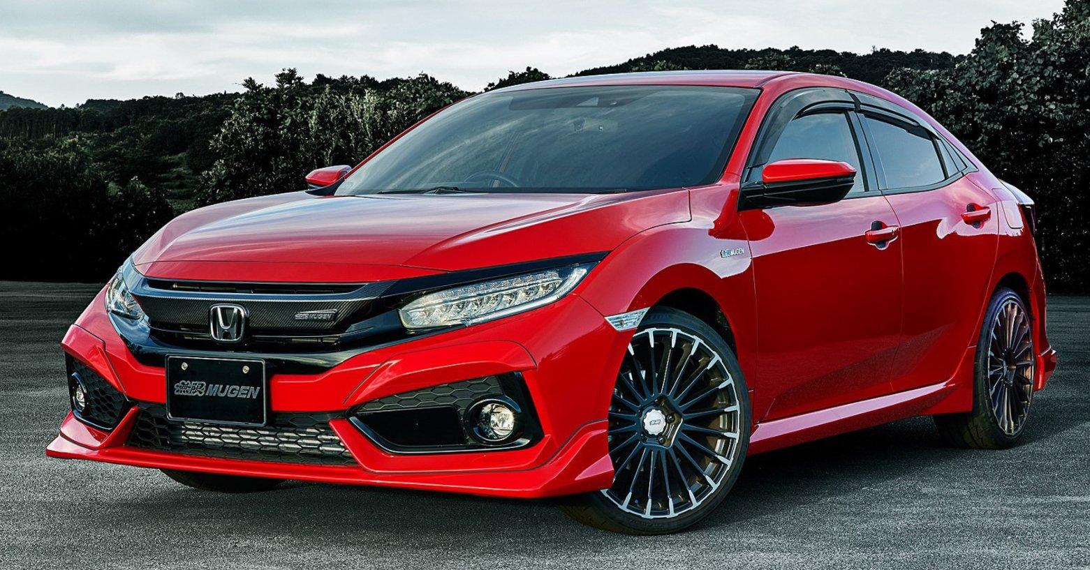 Hãng độ Mugen tung gói tuỳ chọn thể thao dành cho Honda Civic