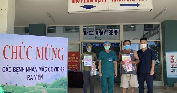2 bệnh nhân mắc Covid-19 được chữa khỏi và xuất viện