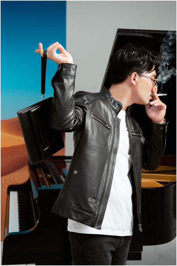 Dương Trường Giang phiêu, manly làm model cho GENTLEMAN LEATHER FOR MAN-4