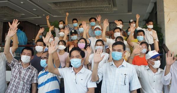 Đội ngũ y tế tiếp sức hoàn thành lời hứa