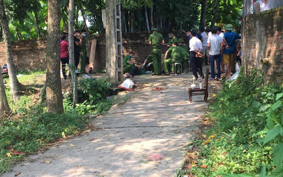Thái Nguyên: Nửa đêm con trai ngáo đá đánh đập mẹ, bị bố chém tử vong
