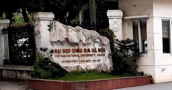 Đại học Quốc gia Hà Nội công bố điểm sàn xét tuyển đại học chính quy năm 2020