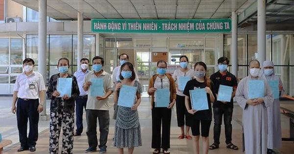 23 bệnh nhân Covid-19 khỏi bệnh và xuất viện