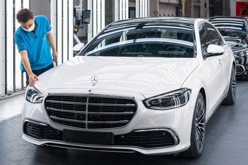 Mercedes xây dựng nhà máy công nghệ cao để sản xuất S-Class 2021