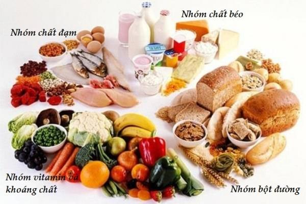 Bữa ăn hợp lý đủ dinh dưỡng tại gia đình