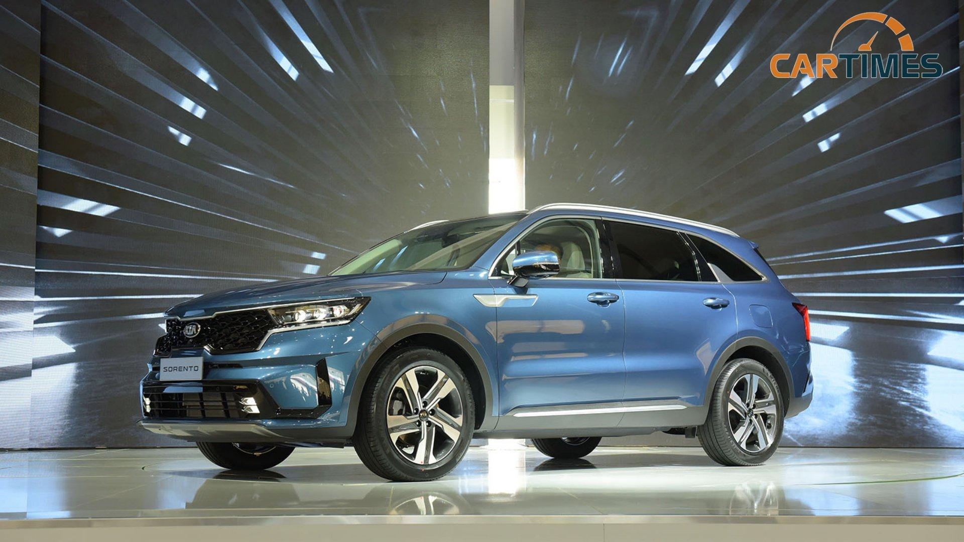 Kia Sorento 2021 ra mắt thị trường Việt Nam: Giá từ 1,079 tỷ đồng, đấu Hyundai Santa Fe và Toyota Fortuner