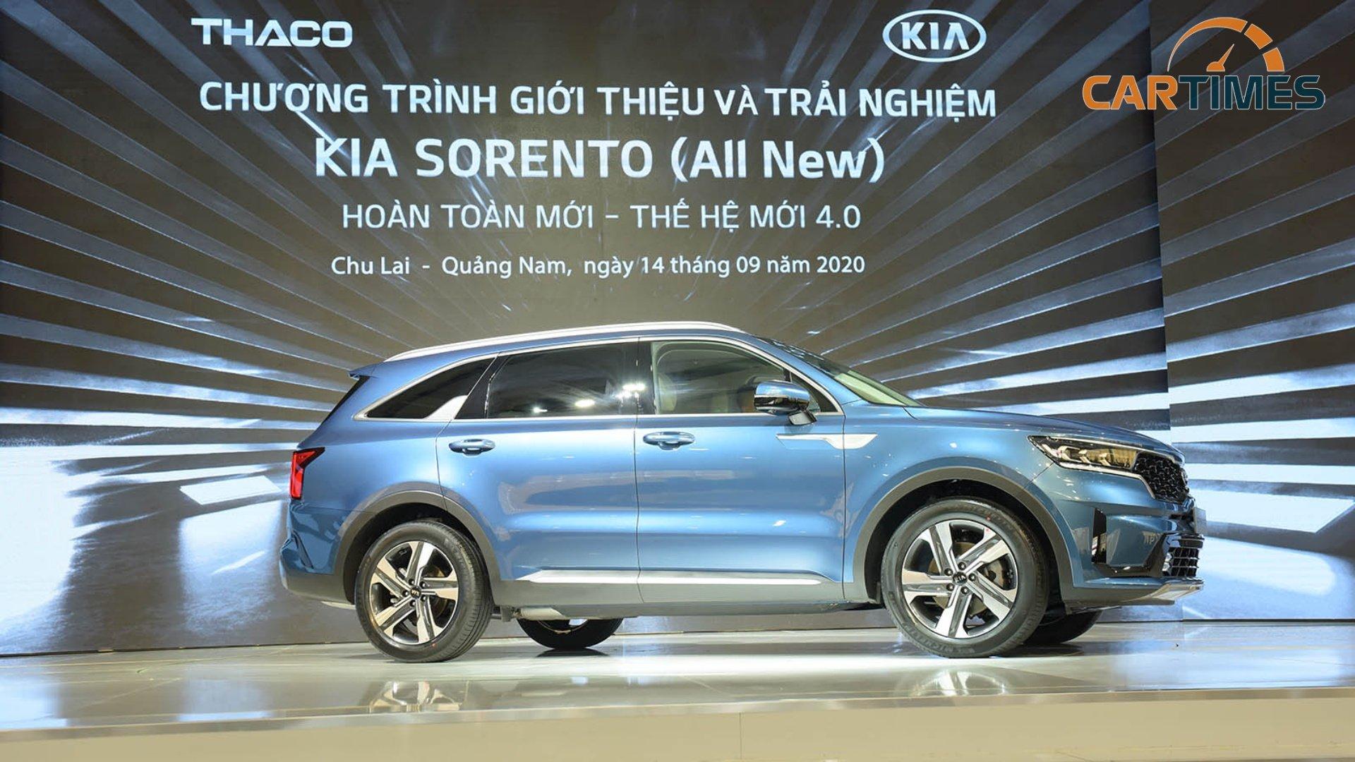 Giá lăn bánh xe Kia Sorento 2021