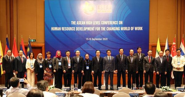Xây dựng thống nhất bộ chuẩn kỹ năng nhân lực số trong khu vực ASEAN