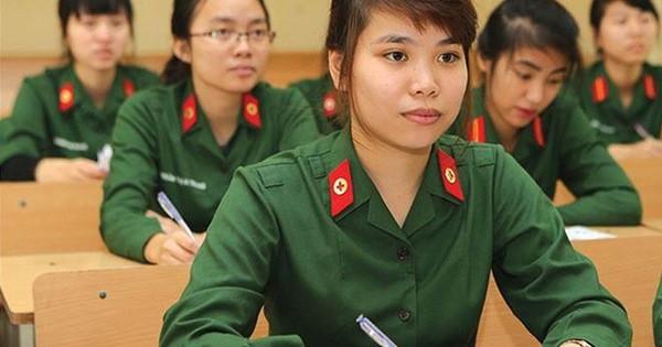 Điểm sàn xét tuyển các trường quân đội thấp nhất từ 15 điểm