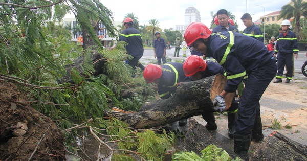 Huế: 1 người chết, hàng nghìn nhà tốc mái do bão số 5