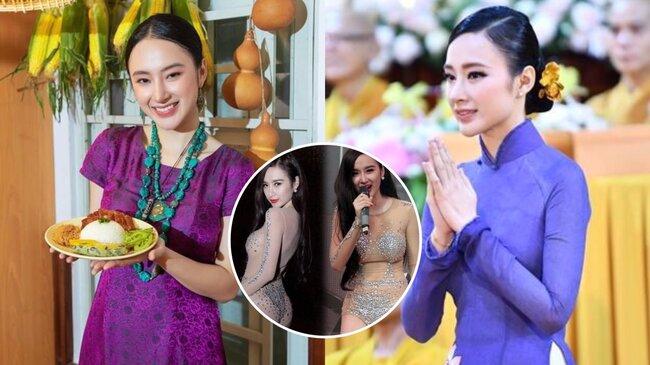 Vẻ đẹp 'tâm sinh tướng' của Angela Phương Trinh sau 2 năm rời xa showbiz