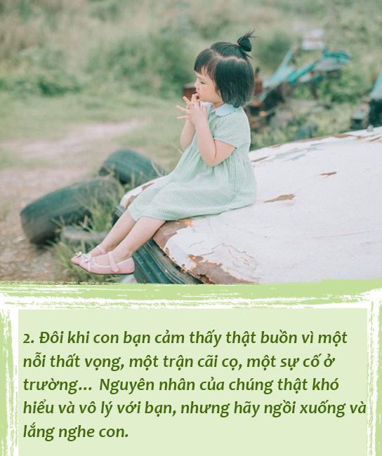 Bố mẹ sẽ tiếc nuối nếu không trao 5 điều này cho con trước khi khôn lớn và rời xa vòng tay của chúng ta-2
